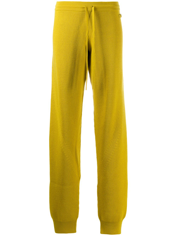 Fenty Knit Track Pants In Yellow
