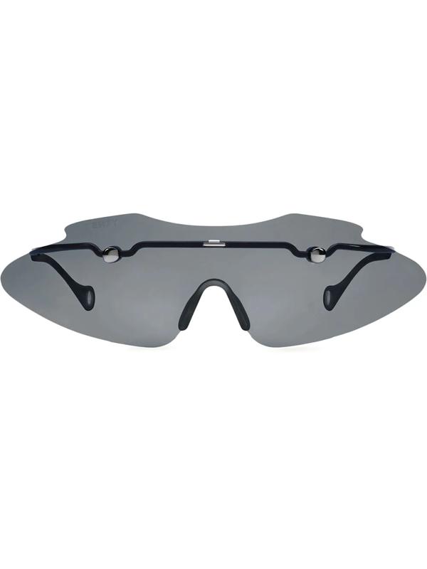 Fenty Women's Centerfold 130mm Mask Sunglasses In Black
