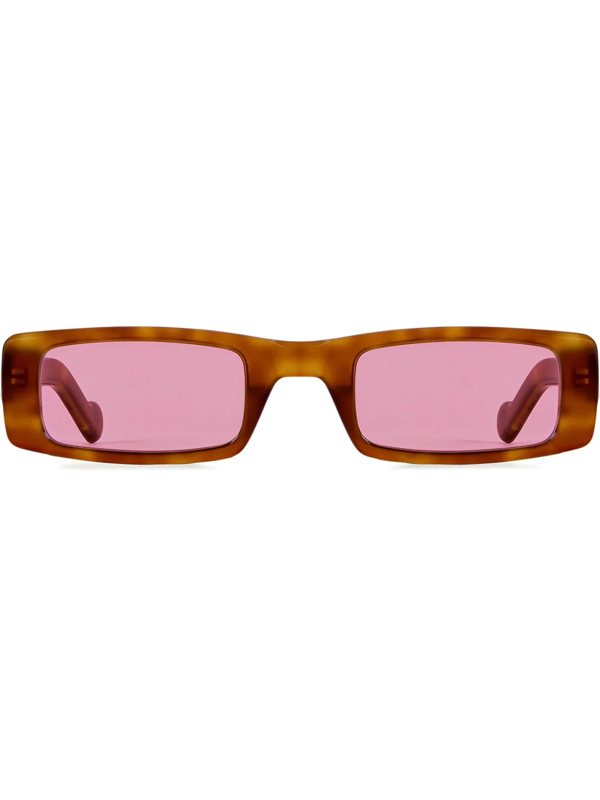 Fenty Women's Trouble 52mm Rectangular Sunglasses In Brown