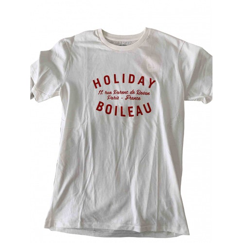 Pre-owned Holiday White Cotton  Top