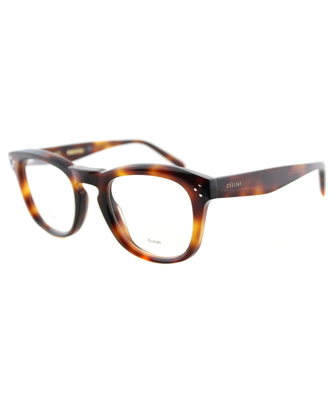 283f816c0bb Celine Square Plastic Eyeglasses In Havana