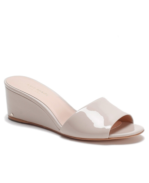Kate Spade Women's Willow Wedge Sandals In Tusk