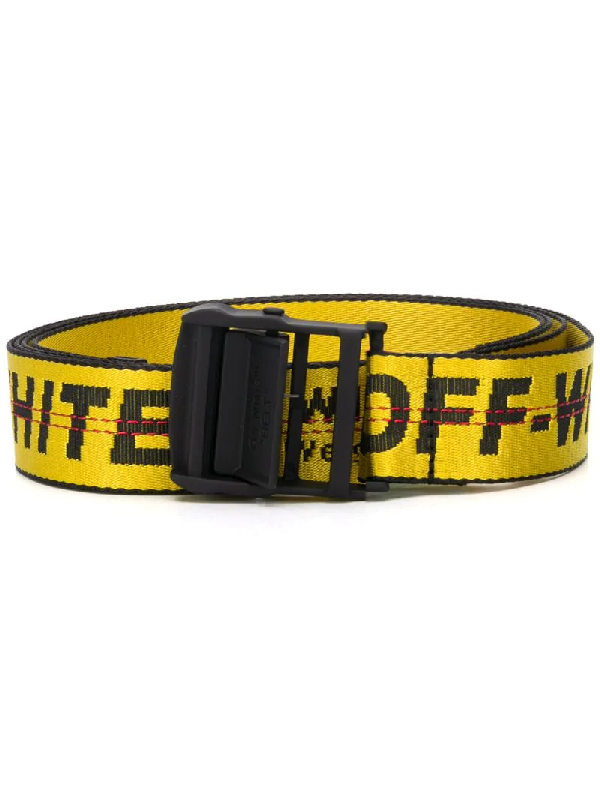 Off-white Industrial Buckle Belt In Yellow