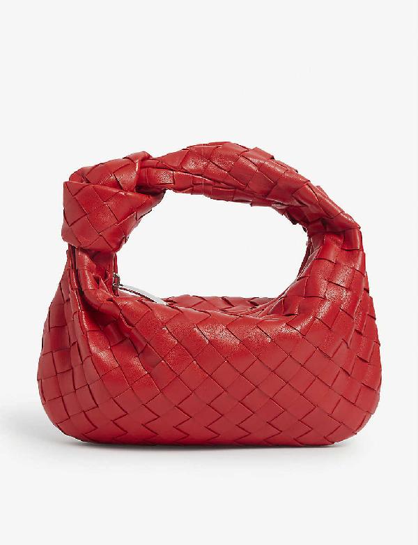Bottega Veneta Womens Small Bv Jodie Leather Hobo Bag