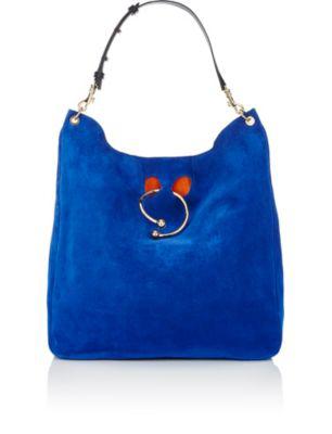 Jw Anderson J.W. Anderson Pierce Obo Shopping Bag In Royal Blue