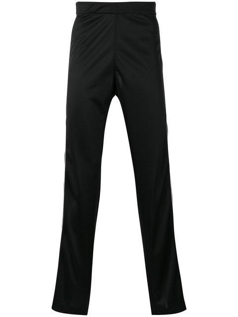 Maison Margiela Side Stripe Track Pants In Black