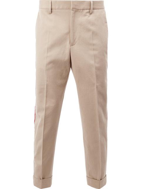 Gucci Stripe Applique Trouser