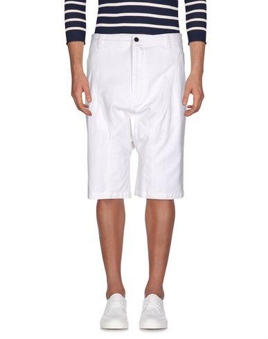 Helmut Lang Denim Shorts In White