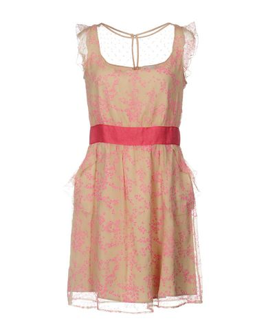 Red Valentino Short Dress In Pink