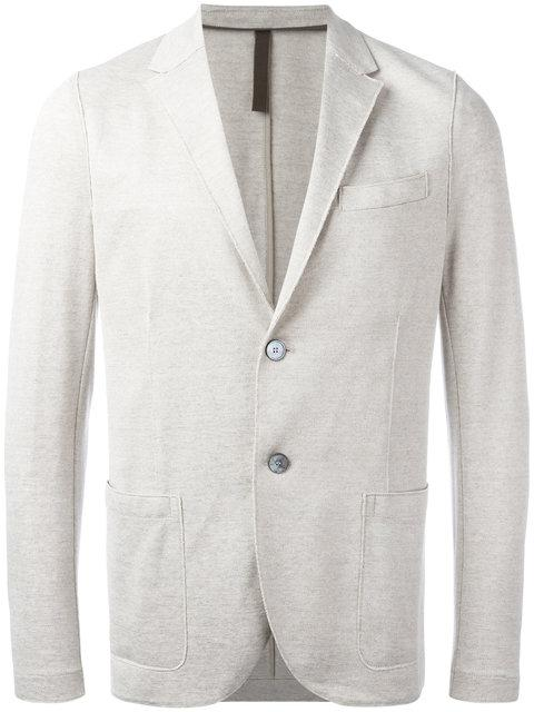 Harris Wharf London Patch Pocket Blazer In Neutrals