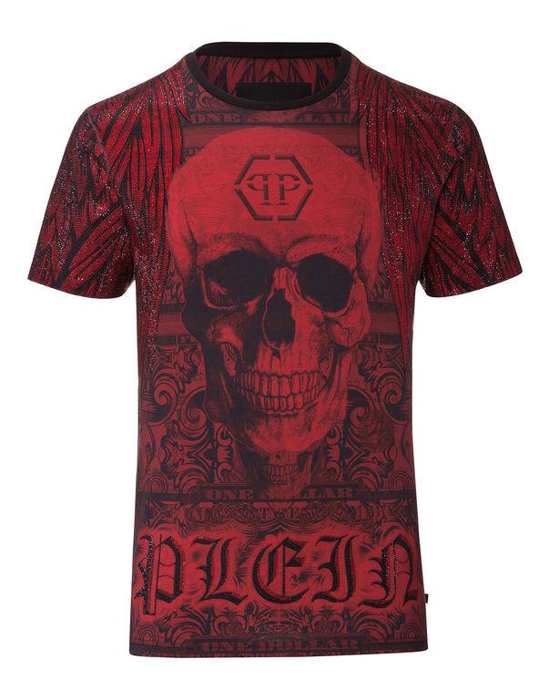 """Philipp Plein T-shirt Round Neck Ss """"cobalt"""""""