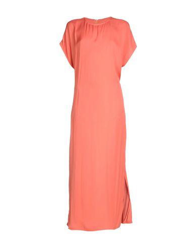 Intropia Long Dress In Salmon Pink