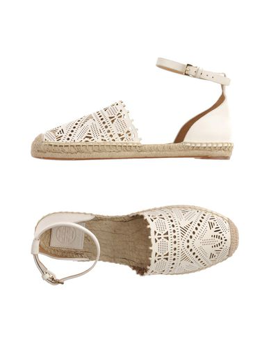 Tory Burch Espadrilles In Ivory
