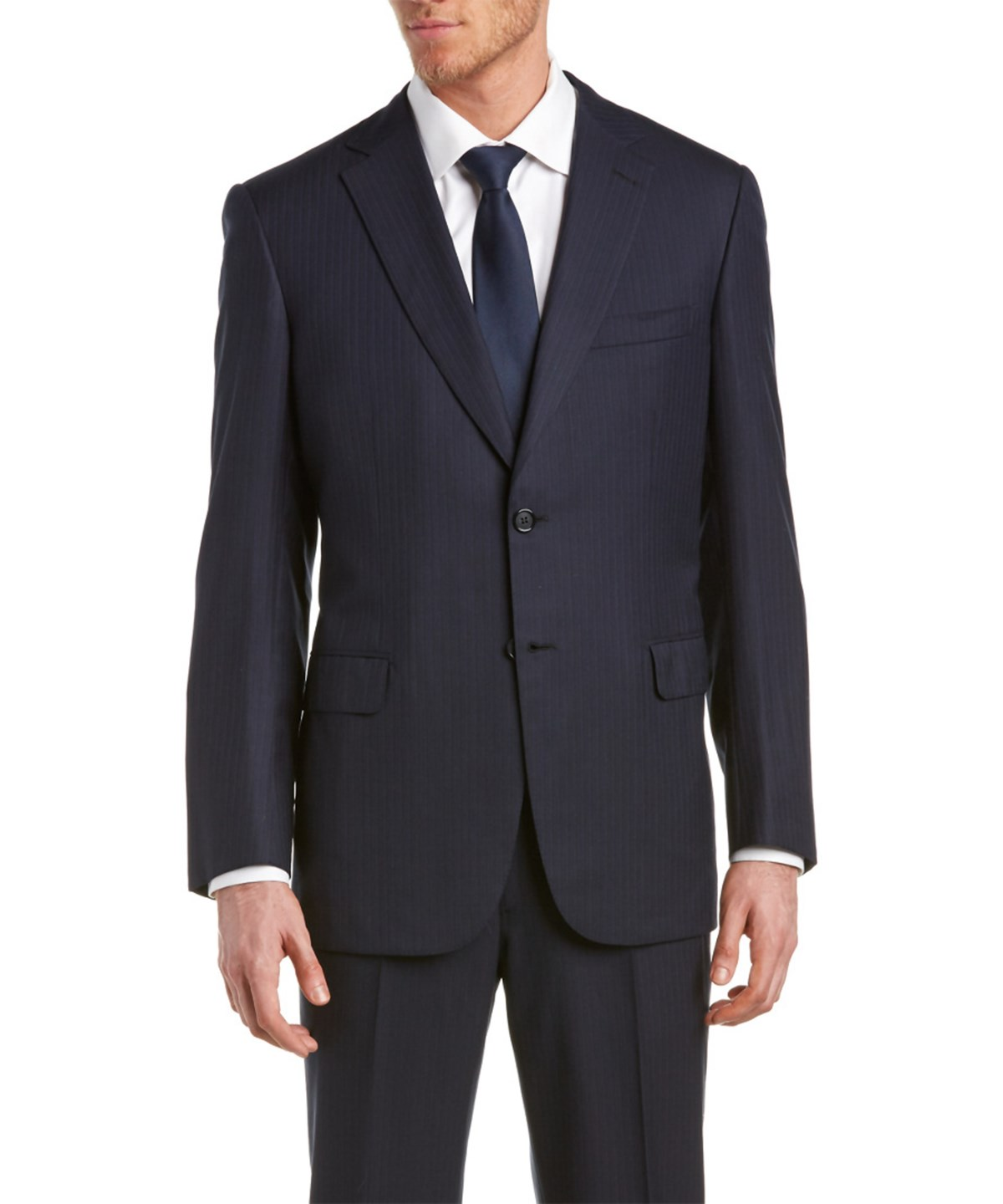 Brioni Wool Suit With Flat Front Pant In Multiple Colors