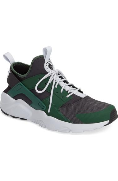 e8e5d530ff2a0 Nike  Air Huarache Run Ultra  Sneaker In Gorge Green  Black  White ...