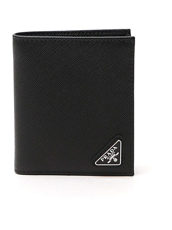 Prada Wallet In Black