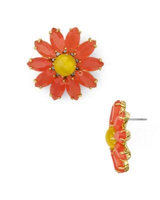Kate Spade Kate Sade New York Flower Stud Earrings In Multi