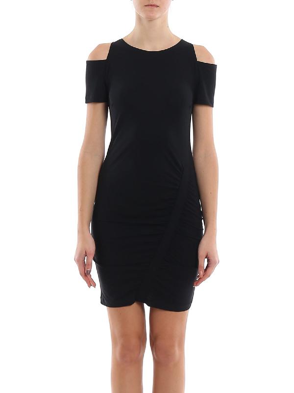 Patrizia Pepe Viscose Dress In Black