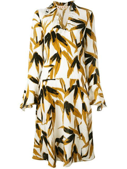 Marni Swash Print Dress