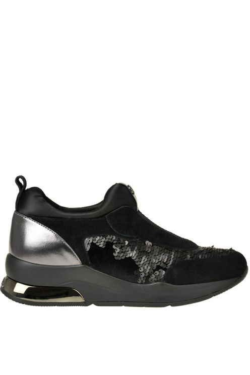 Liu •jo Karlie 7 Slip-on Sneakers In Black