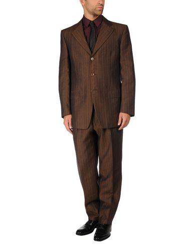 Ermenegildo Zegna Suits In Dark Brown