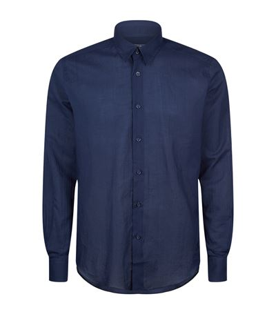 Vilebrequin Caracal Cotton-voile Shirt In Harrods