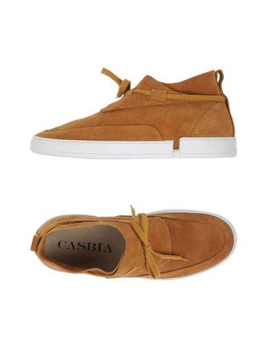 Casbia William Mid-top Suede Sneakers In Brown