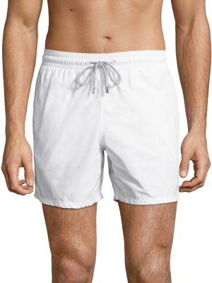 Vilebrequin Moorea Swim Shorts In White