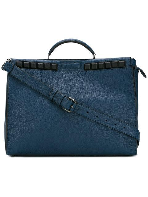 Fendi Large Tote Bag - Blue