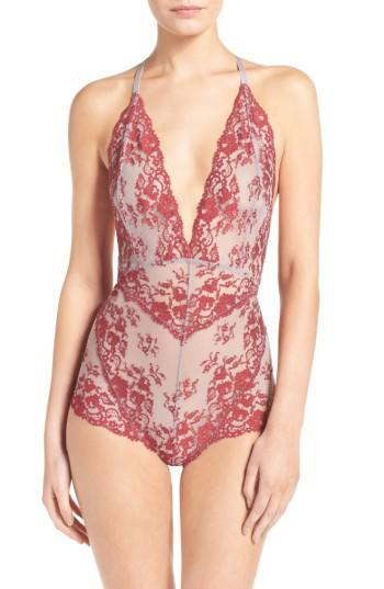 Free People Intimately Fp Too Cute To Handle Bodysuit In Sky