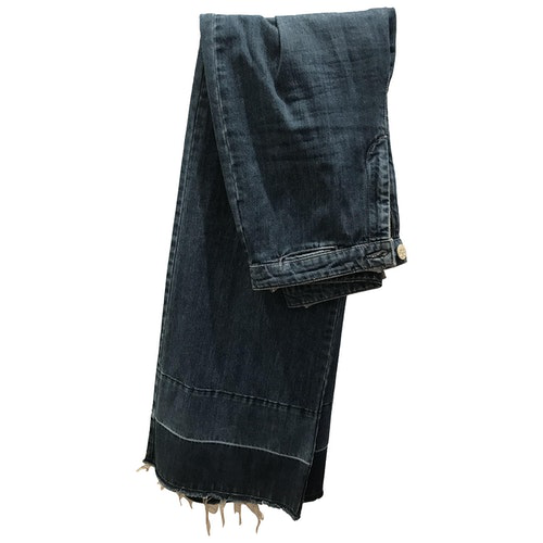Pre-owned Hoss Intropia Blue Denim - Jeans Jeans
