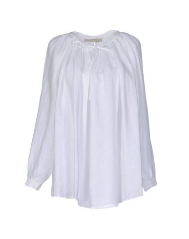 120% Lino Blouse In White