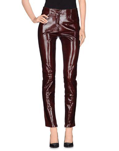 Mugler Casual Pants In Dark Brown