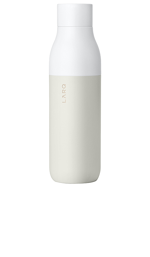 Larq 25 Ounce Self Cleaning Water Bottle In Granite White