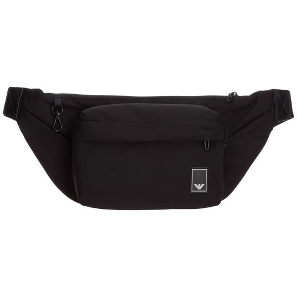 Emporio Armani Men's Belt Bum Bag Hip Pouch In Black