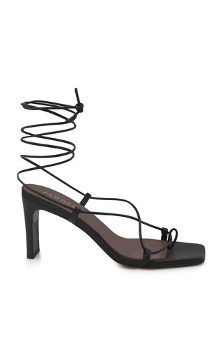 Alohas Bellini Strappy Leather Sandals In Black