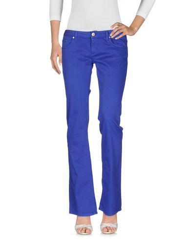 Dondup Denim Pants In Bright Blue