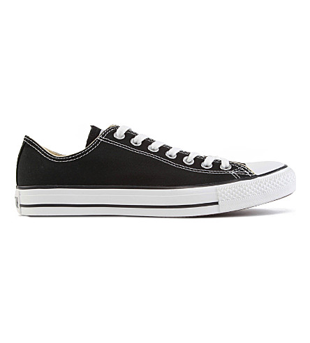 Converse All Star Low-top Canvas Trainers In Black Canvas
