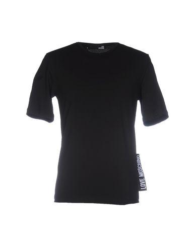 Love Moschino T-shirt In Black