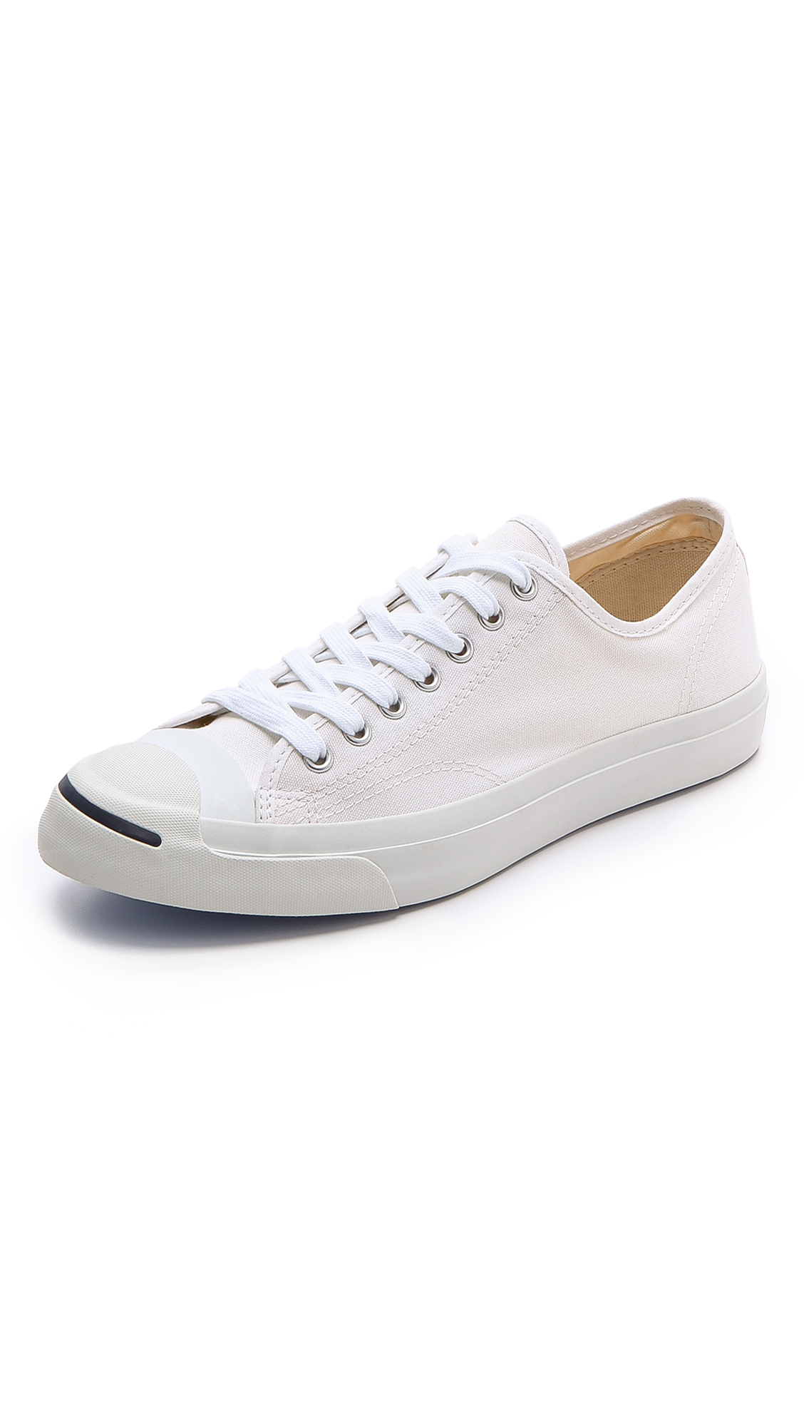 b0182ece6453 Converse Jack Purcell Signature Canvas Sneakers In White