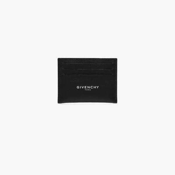 Givenchy Black Leather Card Holder