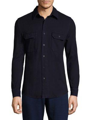 Ag Wok Shirt Jacket In Blue