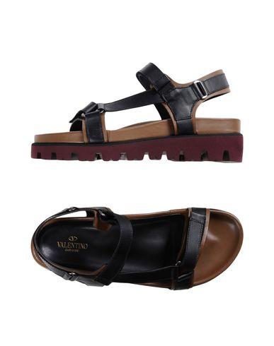Valentino Garavani Sandals In Black