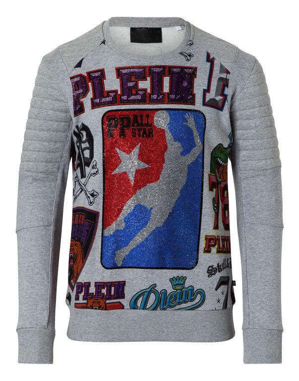 "Philipp Plein Sweatshirt Ls ""line"""