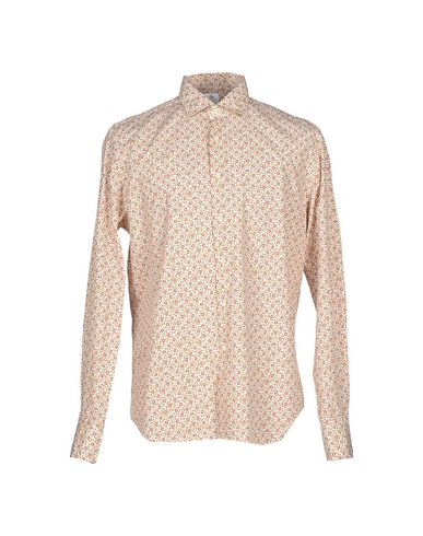 Xacus Patterned Shirt In Ivory