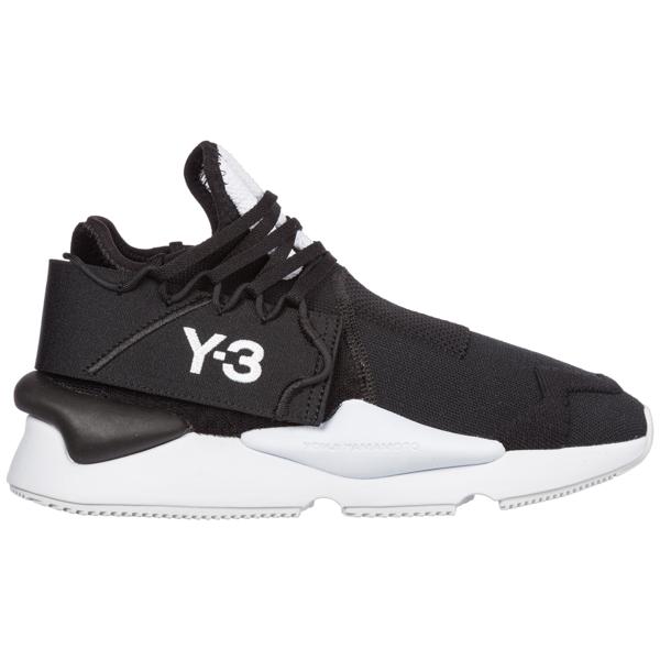 Y-3 Kaiwa Knit Trainers Black Colour: Black