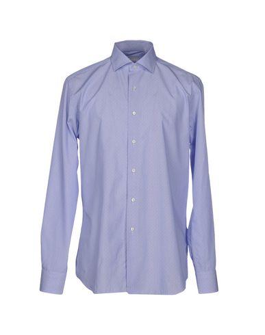 Xacus Patterned Shirt In Sky Blue