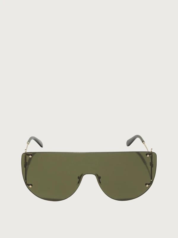 Salvatore Ferragamo Damen Sonnenbrillen In Green