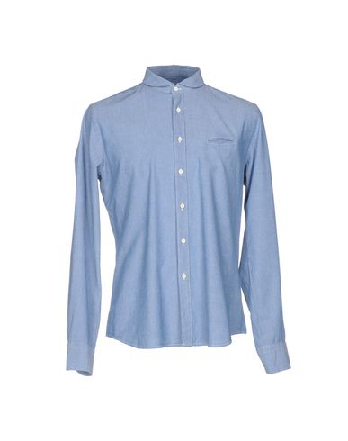 Xacus Patterned Shirt In Sky Blue