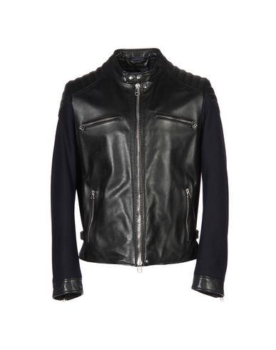 Lanvin Leather Jacket In Black